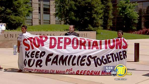 May Day rallies calling for immigration reform