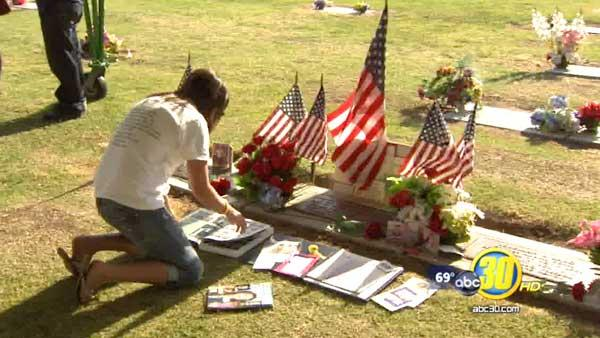 Remembering fallen heroes at the Clovis Cemetery