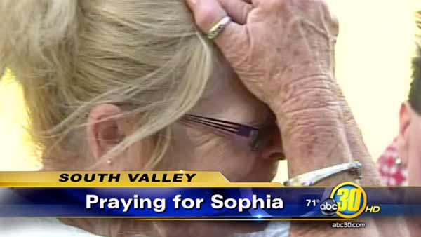 Exeter prays for Sophia