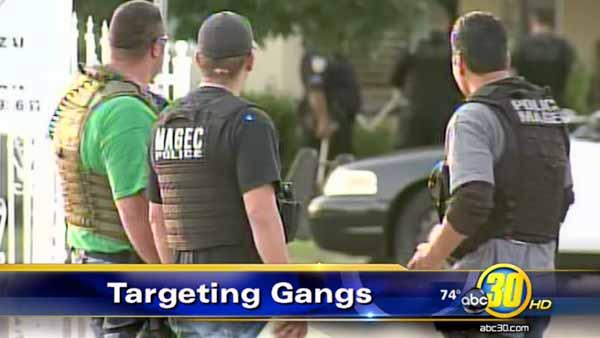 Gang sweep in Sanger nabs one shooting suspect