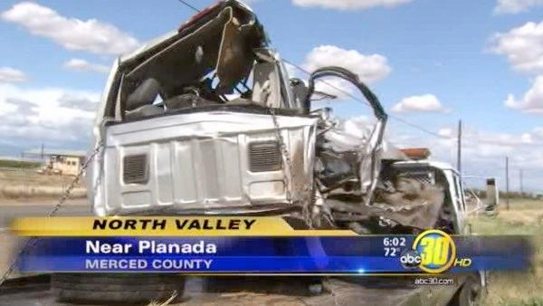 Man killed in Merced Co. train crash