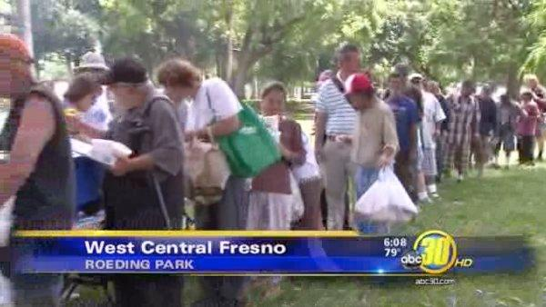 Homeless remembered at Roeding Park in Fresno