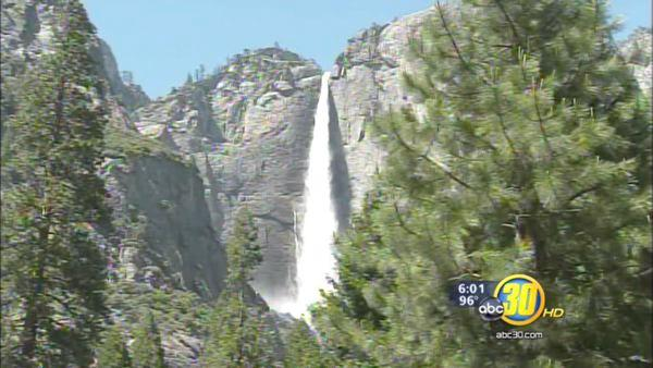 Rising waters cause concern inside Yosemite National Park