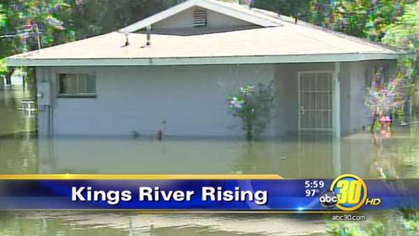 Kings River flooding damages are adding up