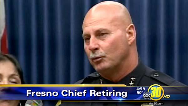 Fresno Police Chief Jerry Dyer announces retirement