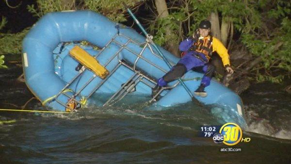 Dramatic Merced River rescue caught on tape