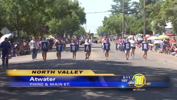 Atwater parade celebrates the Fourth of July