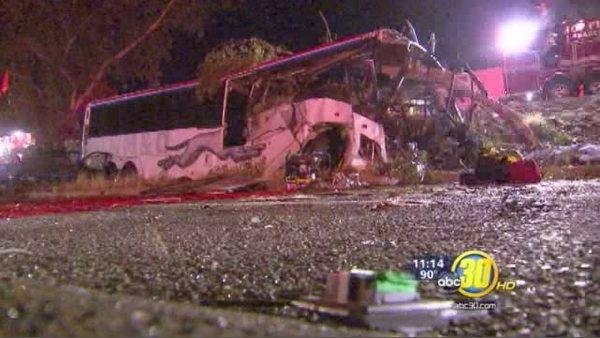 CHP holds a press conference on Greyhound Crash