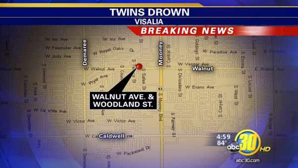 Twin one-year-old boys drown in Visalia