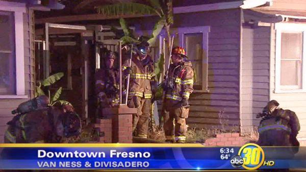Fire destroys 2 historic buildings in Downtown Fresno