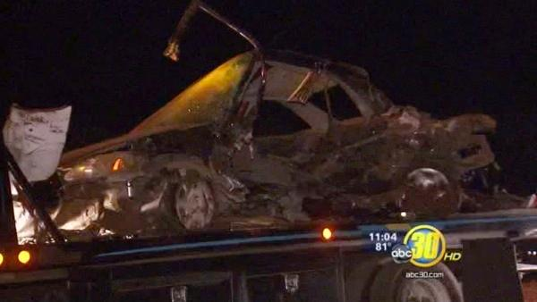 Two teens killed in crash near Kingsburg