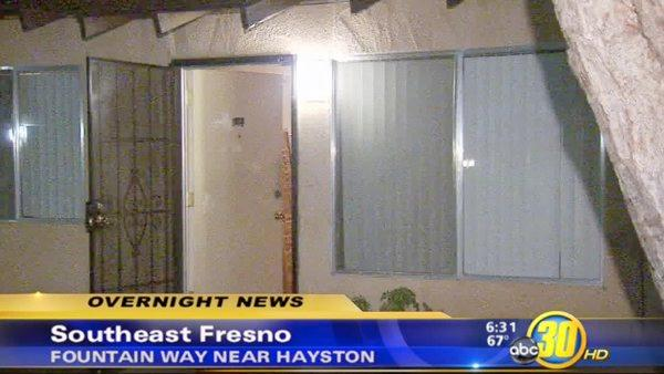 TV stolen in Fresno home invasion robbery