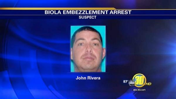 Former Biola employee arrested on embezzlement charges