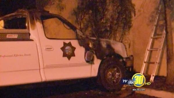 Fire that damaged Fresno Police vehicles ruled arson