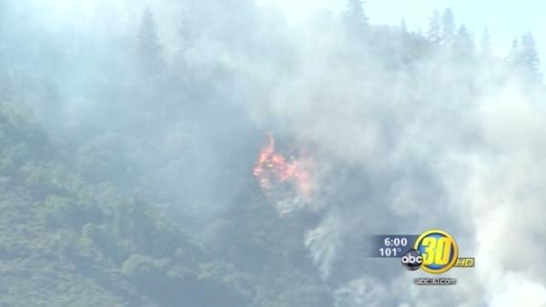 Motor Fire burns at least 4,626 acres in Mariposa Co.