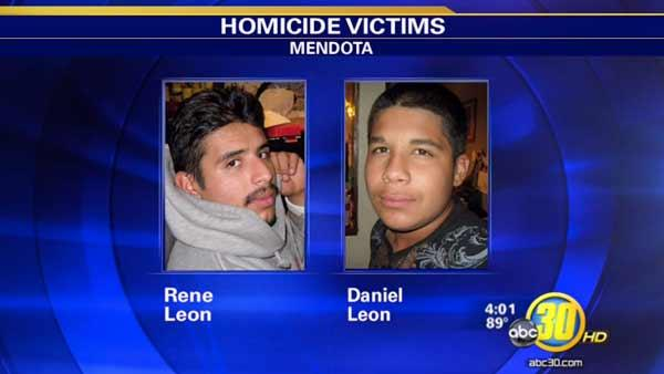 Homicide detectives look for clues in Mendota murders