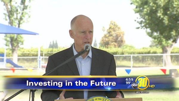 Gov. Brown makes Valley visit to boost solar energy project