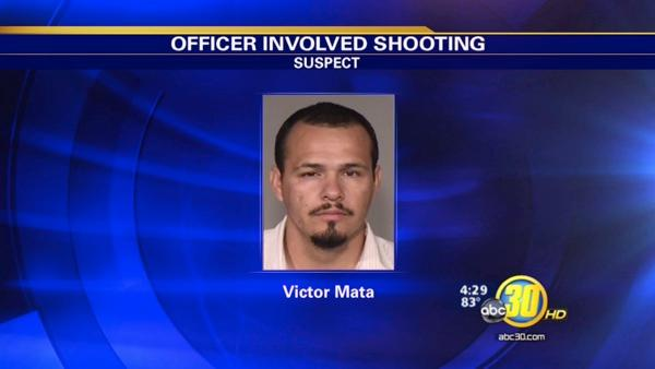 Fresno OIS suspect tried to run officer over