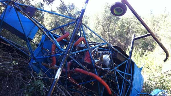 Two injured in Madera County helicopter crash