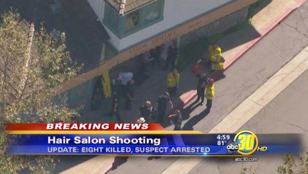 SoCal hair salon shooting: 8 dead, 1 hurt