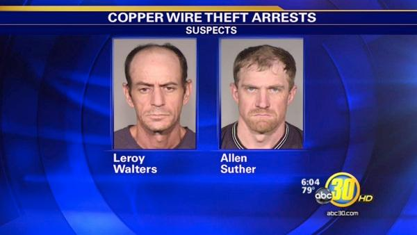 Alert NE Fresno homeowner helps catch copper wire thieves