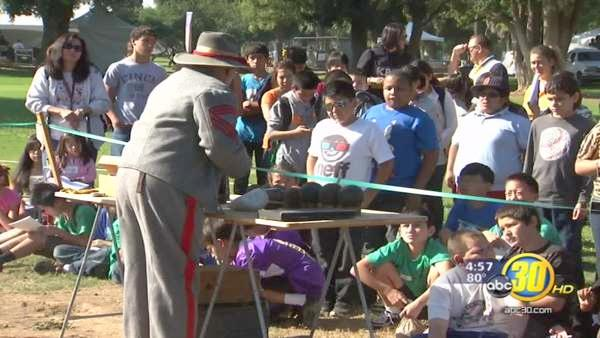 Valley students experience the Civil War Revisited