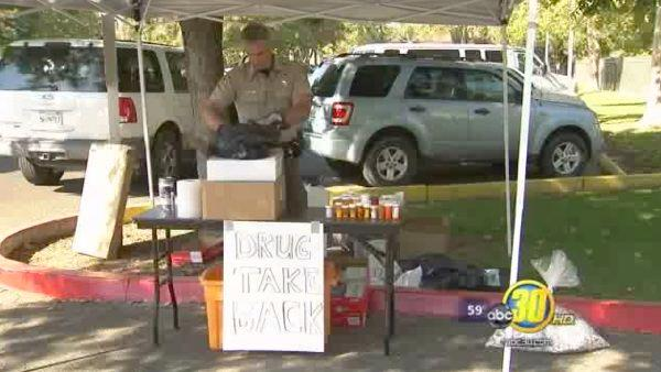 Valley authorities collect prescription drugs