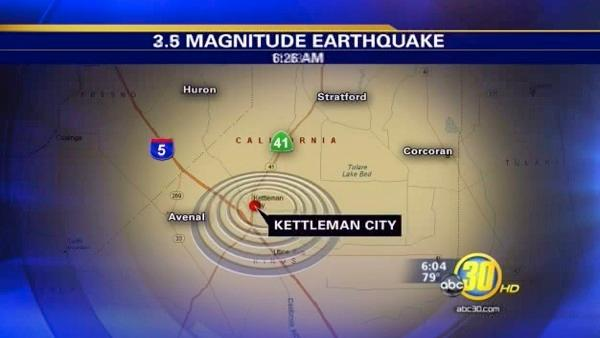 Two small quakes shake Central Valley