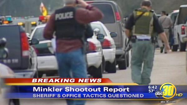 Minkler shootout report questions sheriff's office tactics