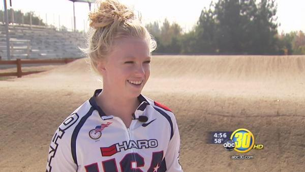 Meet BMX racing star Brooke Crain of Visalia