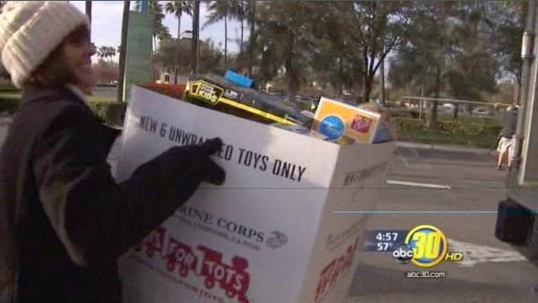 Toys for Tots Marathon kicks off holiday giving