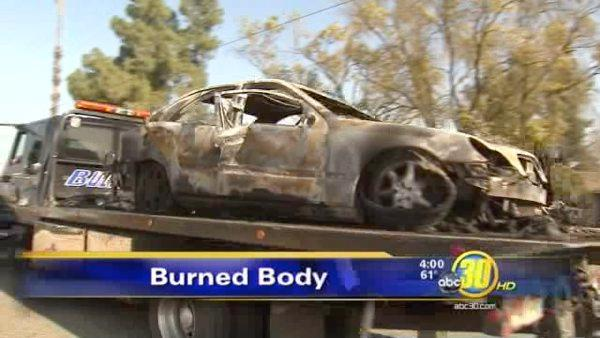 Torched car in Fresno Co revealed dead body