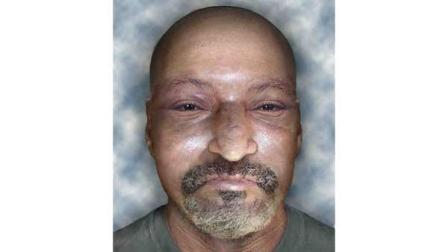 FBI rendering of an unidentified man found in a Madera County olive orchard.