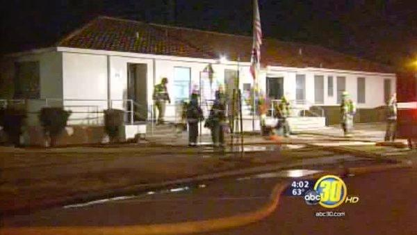 Fire damages Fowler's Chamber of Commerce office