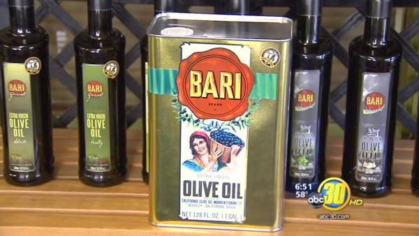 Dinuba's Bari Olive Oil will be used at the Golden Globes