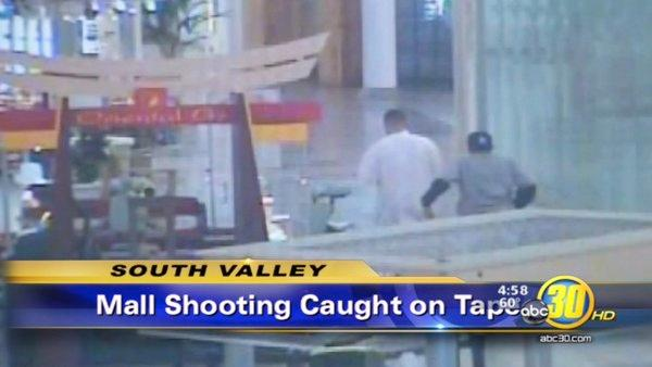 Visalia Mall shooting caught on camera