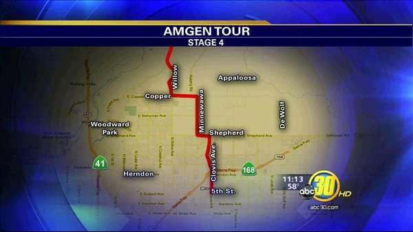 2012 AMGEN Tour of California to ride through Clovis