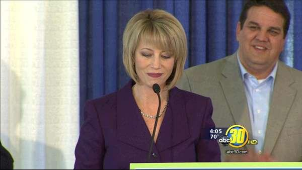 Fresno Mayor Ashley Swearengin is running for re-election