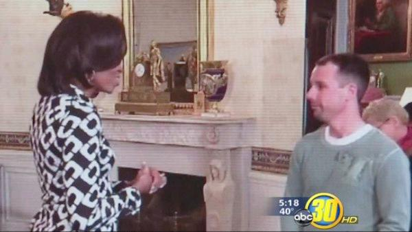 Fresno man meets Michelle Obama during White House tour
