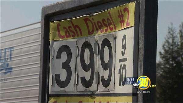 Diesel prices soaring throughout the nation