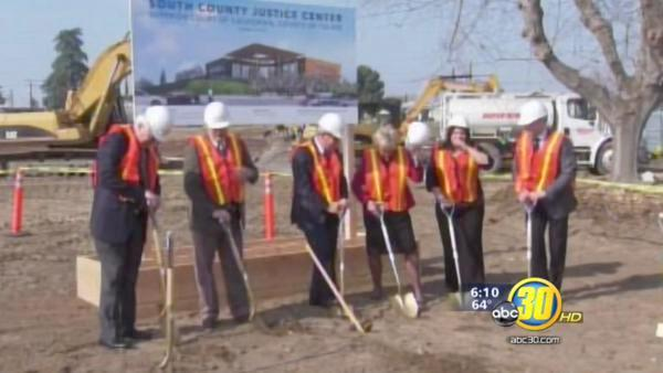Porterville breaks ground on South County Justice Center