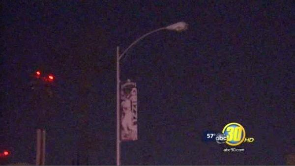 Copper wire theft puts streets near Chukchansi Park in the dark