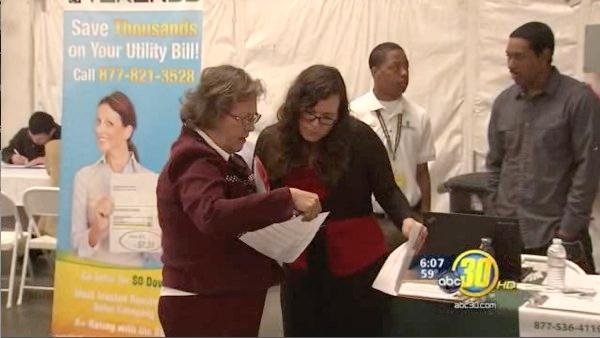 Solar company holds a job fair in Fresno