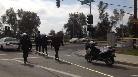 Person hit while riding his bike at Ashlan and Golden State