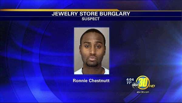 Police say man arrested after Merced jewelry store burglaries