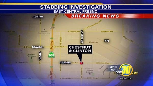 Man stabbed at a Fresno gas station