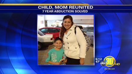 Kings County boy, 8, reunites with mom after abduction