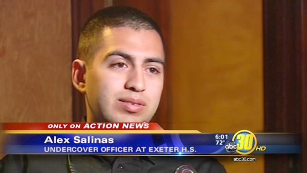 Undercover Exeter Cop Alex Salinas talks