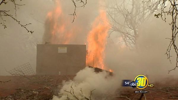 Fresno neighbors fear a firebug will strike again