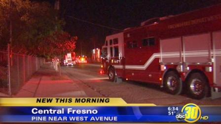 The Fresno Fire Department along with hazardous materials crews responded to a small chemical spill at an anodizing company in Central Fresno.